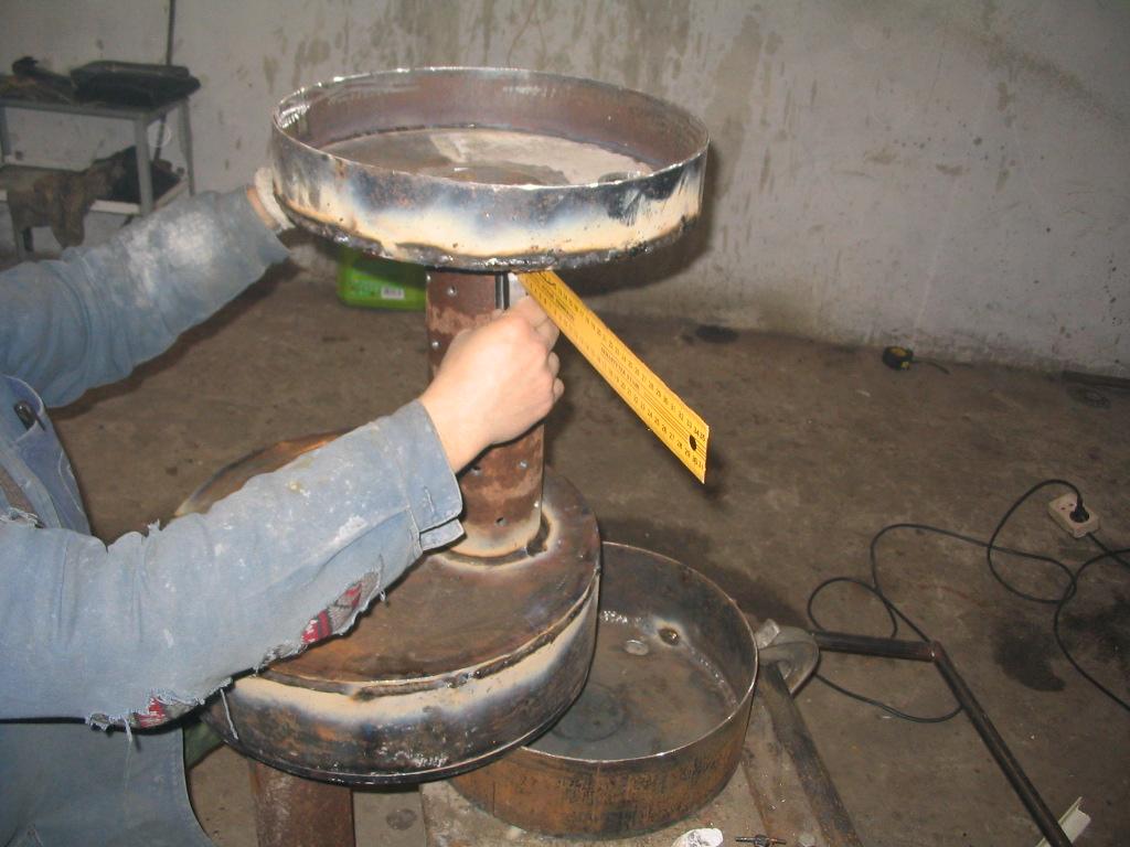 Масляная печь своими руками